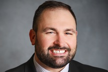 headshot of Joshua Fisher, DPM, AACFAS